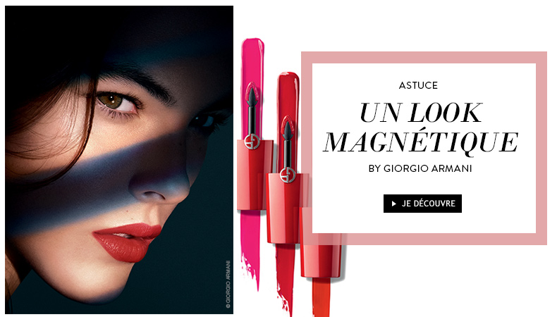 un look magnetique by giorgio armani