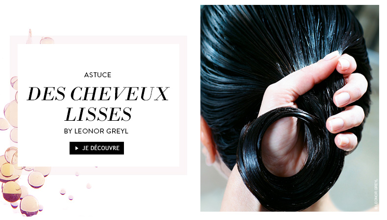 des cheveux lisses by leonor greyl