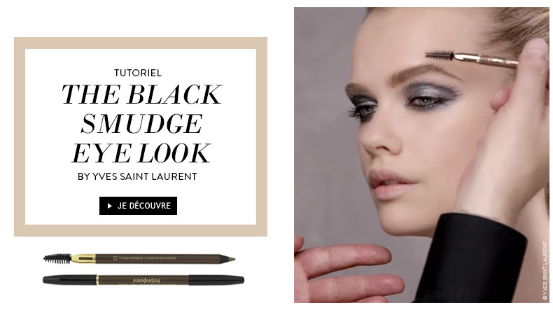 THE BLACK SMUDGE EYE LOOK