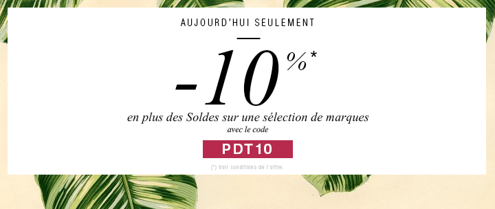 offre 10% suppl�mentaire