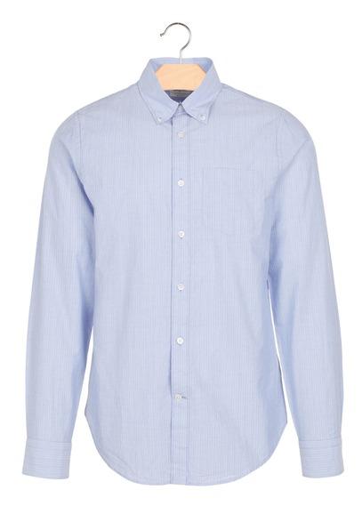 chemise slim fit ray e en coton mire stripe 1 bellerose eboutique homme place des tendances. Black Bedroom Furniture Sets. Home Design Ideas