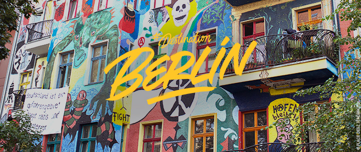 BERLIN : Quartier Friedrichshain