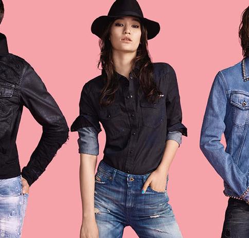 Vêtements et jeans Diesel femme